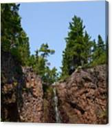 Gauthier Falls In Late August Canvas Print