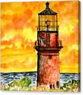 Gay Head Lighthouse Martha's Vineyard Canvas Print