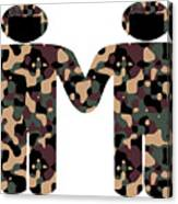 Gays In The Military Canvas Print