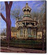 Gazebo At Wisconsin Club Canvas Print