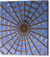 Gazebo Blue Sky Abstract Canvas Print
