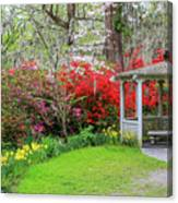 Gazebo View Canvas Print