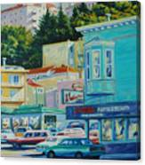 Geary Street Canvas Print