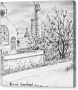 Gedempt Hamerkanaal Canvas Print