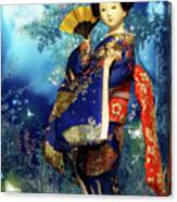 Geisha - Combining Innocence And Sophistication Canvas Print