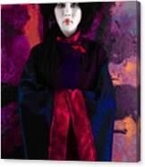 Geisha 5 - Geisha Series Canvas Print