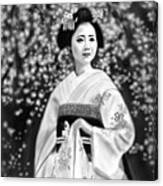 Geisha No.146 Canvas Print