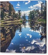 Gem Lake Reflections Canvas Print