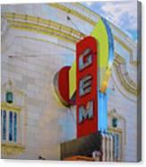 Gem Theater  Canvas Print
