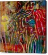 Gemini Abstract Canvas Print
