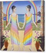 Gemini / Iris And Arke Canvas Print