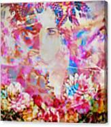 Gemini Woman Canvas Print