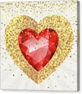 Gemstone - 1 Canvas Print