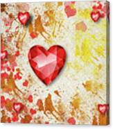 Gemstone - 7 Canvas Print