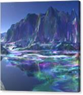 Gemstone Mountain  Canvas Print
