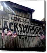 General Blacksmithing Canvas Print