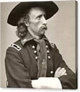 General Custer Canvas Print