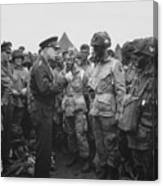 General Eisenhower On D-day  Canvas Print