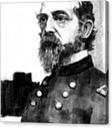 General George Meade Canvas Print