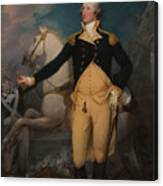 General George Washington At Trenton Canvas Print