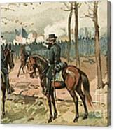 General Grant, Battle Of Shiloh, 1862 Canvas Print