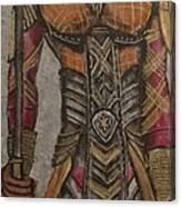 General Okoye Of The Wakandian Elite Forces   Canvas Print