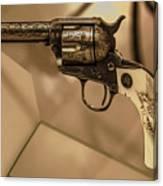General Patton's Model 1873 Colt 45 Revolver  Canvas Print