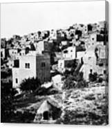 General View Of Bethlehem 1800s Canvas Print