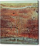 General View Of Philadelphia Canvas Print