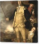 General Washington At The Battle Of Princeton Canvas Print