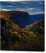 Genesee River Gorge Canvas Print