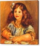 Genevieve Bernheim De Villers 1910 Canvas Print