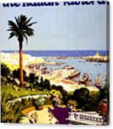 Genoa, Italian Riviera, Coast Canvas Print