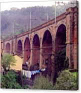 Genoa Railroad Bridge Canvas Print