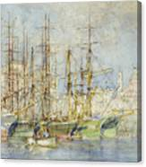 Genoese Shipping Canvas Print