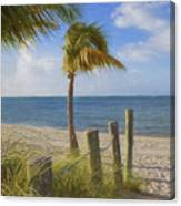 Gentle Breeze At The Beach Canvas Print