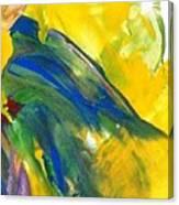 Gentle Fingers    Gentle Bird Canvas Print