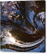Gentle River Ripple-1 Canvas Print