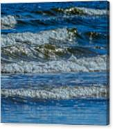 Gentle Roll Of The Waves Canvas Print