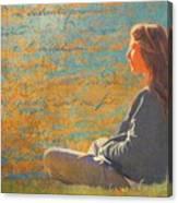 Gentle Sunshine Canvas Print