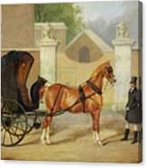 Gentlemen's Carriages - A Cabriolet Canvas Print