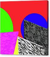 Geo Shapes 2 Canvas Print