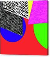 Geo Shapes 2a Canvas Print