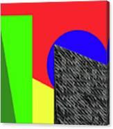 Geo Shapes 3 Canvas Print