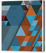 Geometric Beginnings Canvas Print