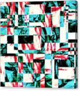 Geometric Confusion 2 Canvas Print