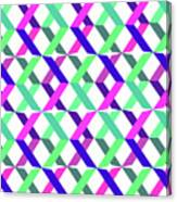 Geometric Crosses Canvas Print
