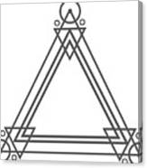 Geometric Design Series One Canvas Print