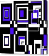 Geometric Pizazz 5 Canvas Print