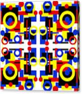Geometric Shapes Abstract Square 2 Canvas Print